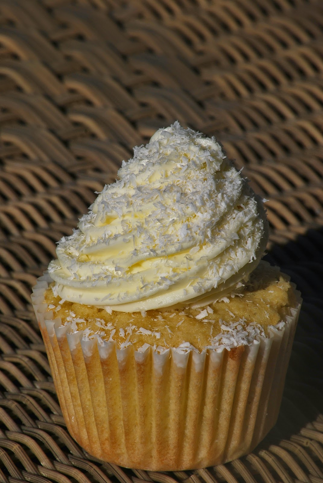 My story in recipes: Coconut Cupcakes