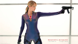 Resident Evil Retribution 2012 Jill Valentine HD Wallpaper