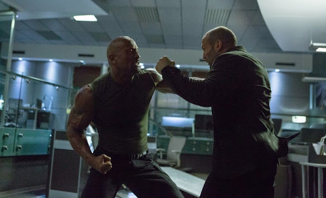 fast furious 7 rock vs statham still