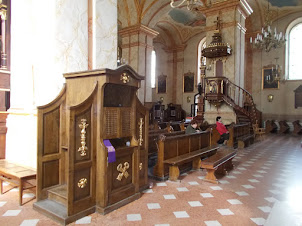 """Inside  """"Basilica of the Presentation of the Blessed Virgin Mary"""""""