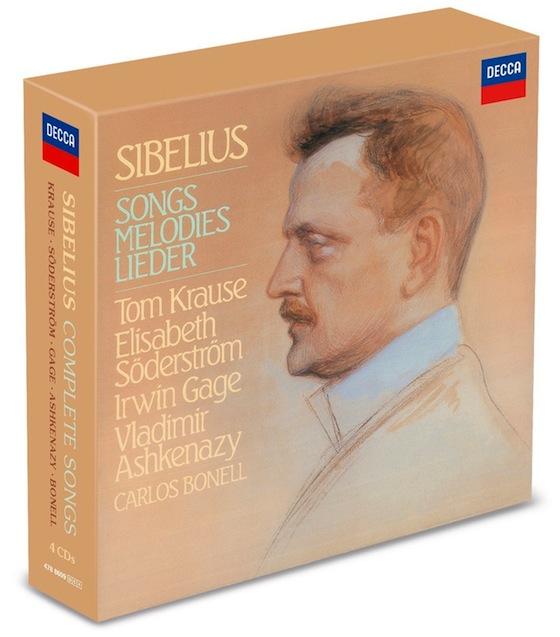 Sibelius - Coffrets Sibelius%2BThe%2BComplete%2BSongs%2BElisabeth%2BSoderstrom%2BTom%2BKrause%2BIrwin%2BCage%2BVladimir%2BAshkenazy%2BDecca%2BKingsway%2BHall%2B1985