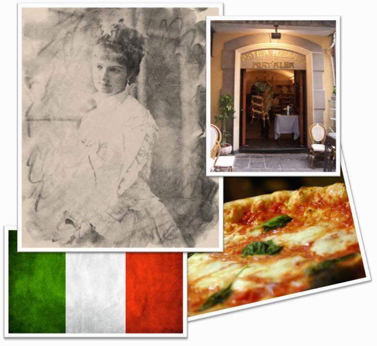 Pizza Reina Margarita historia