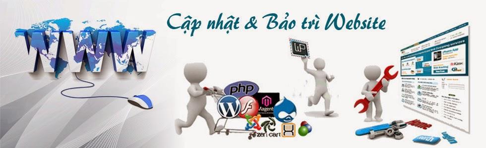 bảo trì và nâng cấp website