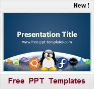 linux informatique computer Modeles PPT de presntation gratuits