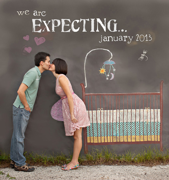 20 Pregnancy Announcement Ideas from a pro Brittany Estes – Baby Announcement Ideas to Family
