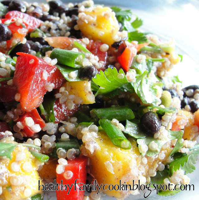 Healthy Family Cookin': Black Bean Mango Salad
