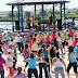 """Na Baixa da Banheira - Fitness ao Ar Livre no Parque Zeca Afonso """" Evento foi um sucesso com uma adesão de cerca de 200 participantes"""""""