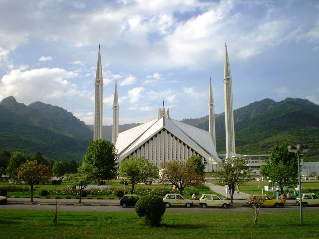 Travel Trip Journey: Faisal Mosque Islamabad Pakistan