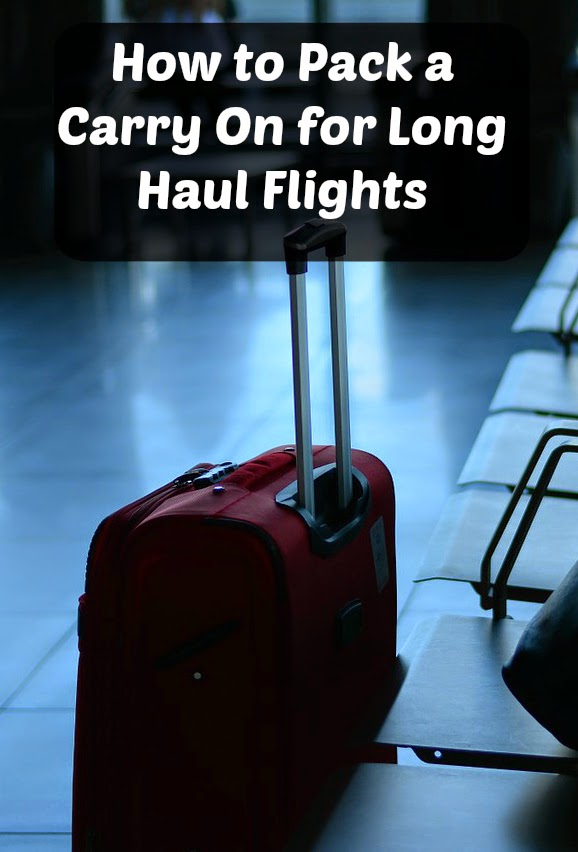 how to pack a carry on for long haul flights