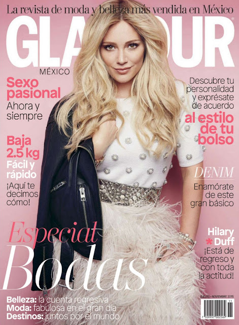 Hilary Duff - Glamour Mexico, November 2015