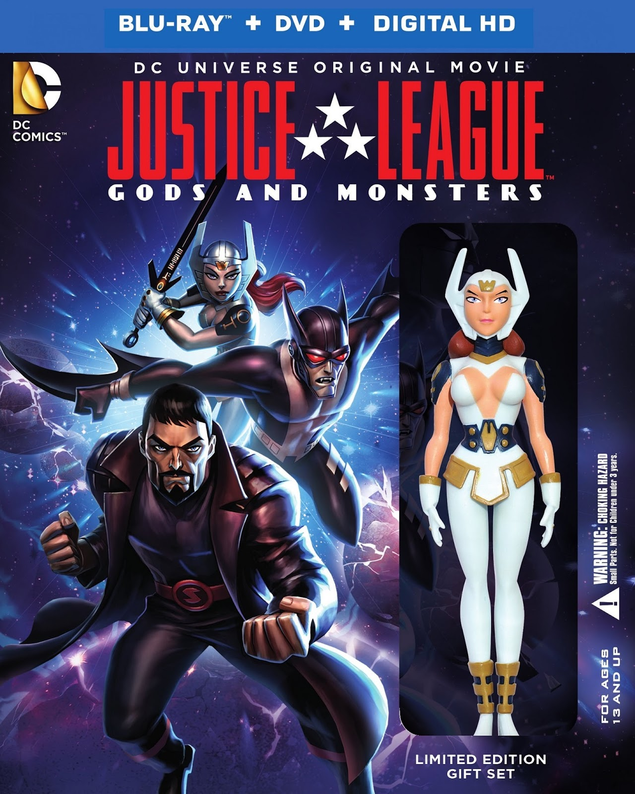 Liên Minh Công Lý - Justice League: Gods and Monsters