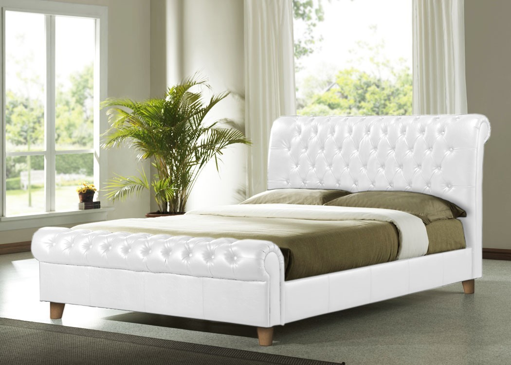 White leather beds designs 1 - What S The Distinguishing Feature Of A Bedroom