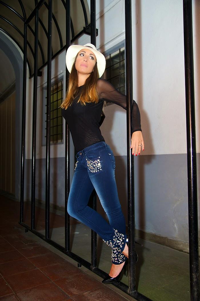 jeans personalizzato fracomina