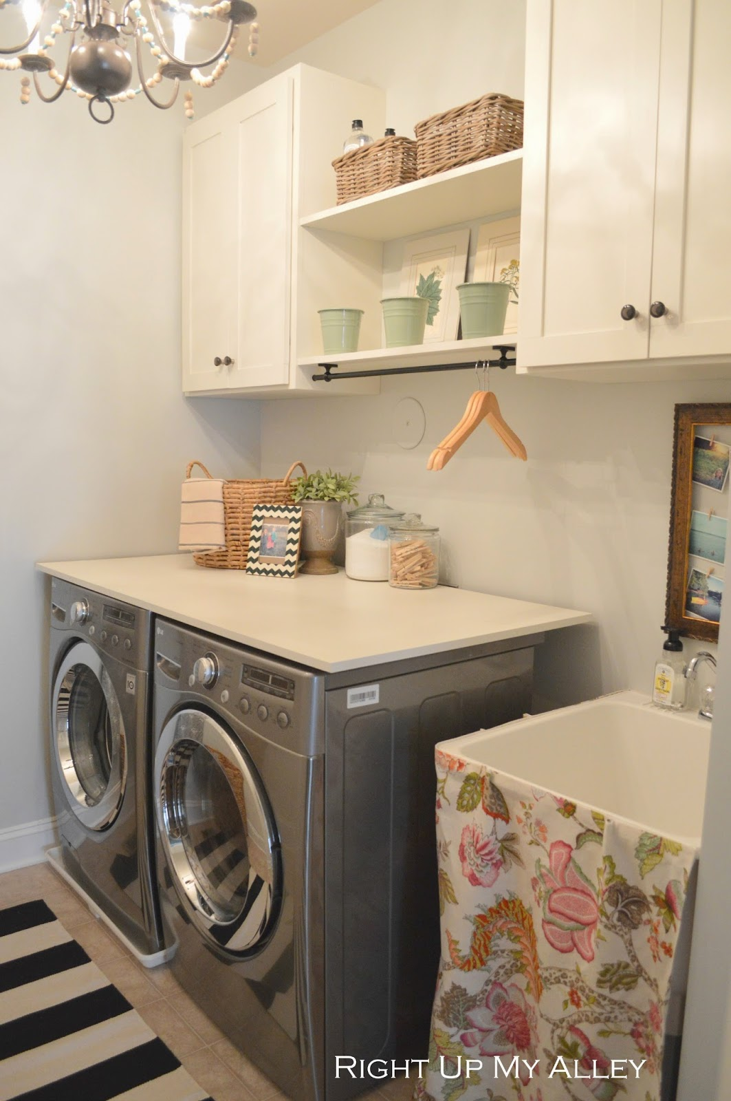 Right up my alley: ORC Laundry Room Reveal