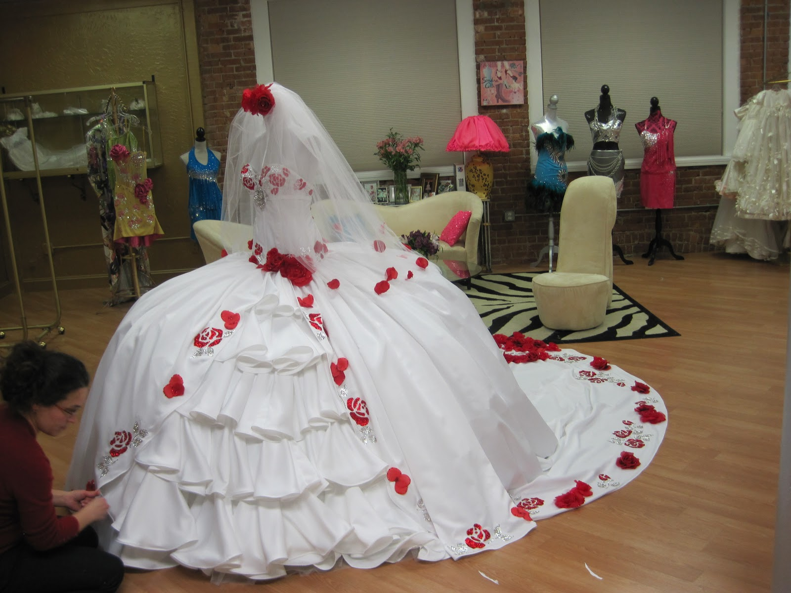 Over the Top Gypsy Wedding Fashion on TLC Sunday Night at