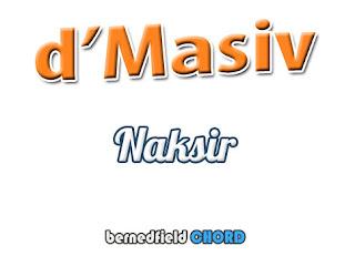 Lirik dan Chord(Kunci Gitar) D'Masiv ~ Naksir