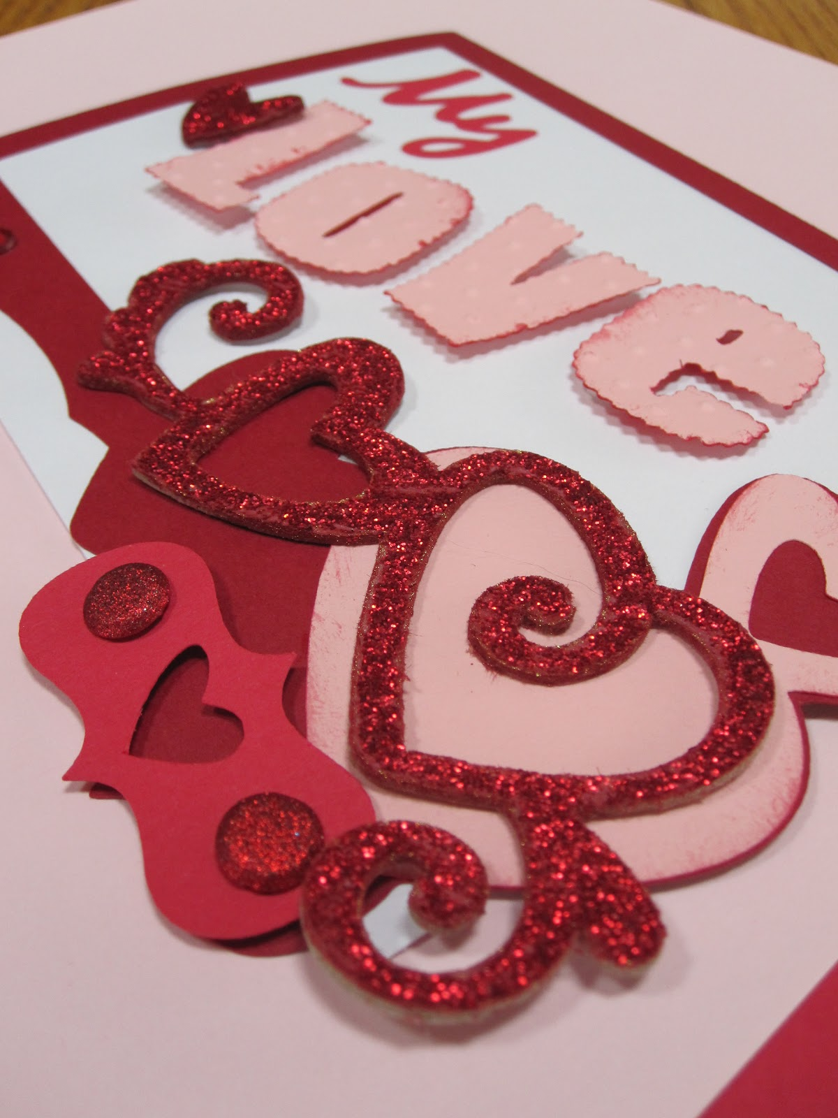 The paper retreat for my valentine for Designs for valentine cards