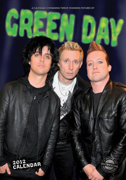 Calendario Green Day