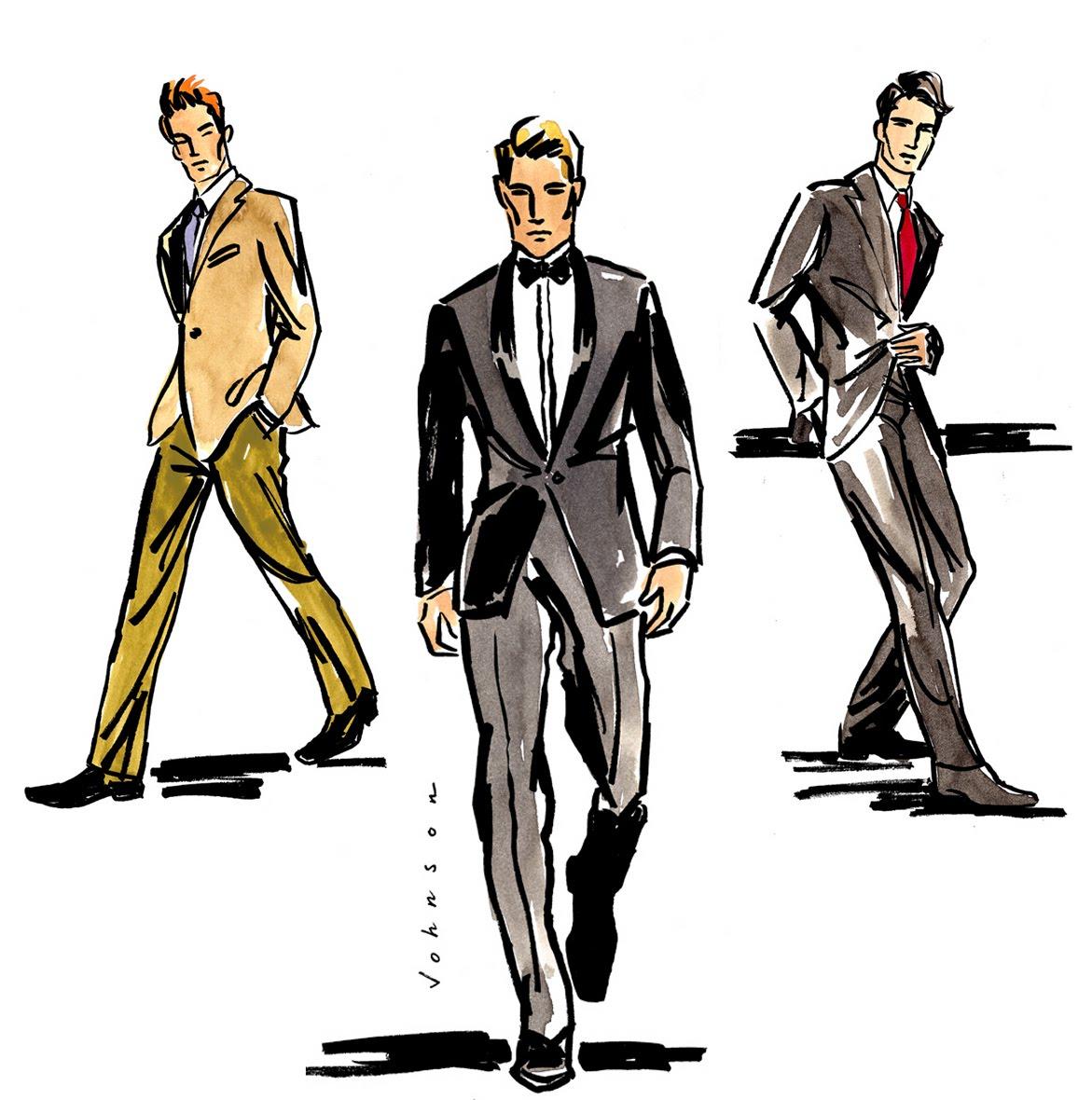 Men fashion illustration - photo#6