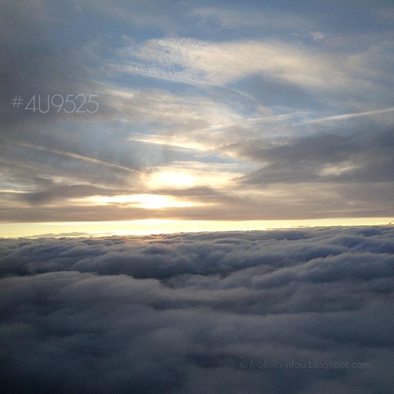 Germanwings, 4U9525, über den Wolken, Gedanken