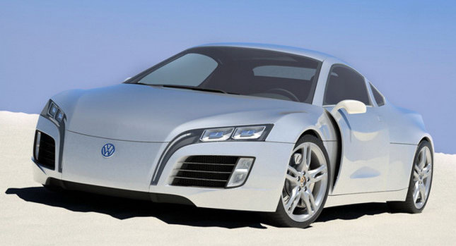 Cars, Trucks, SUVs U0026 Accessories: Steel Drakeu0027s Volkswagen Concept Sports  Car