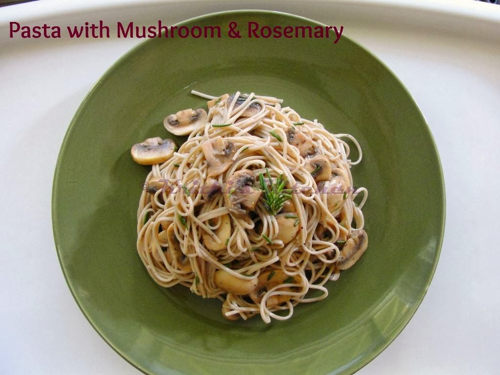 ... Kitchen: Pasta with Mushroom, Rosemary & Lemon | Vegan Pasta Recipes
