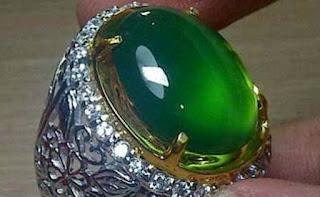 Batu akik super Giant Green Fluorite