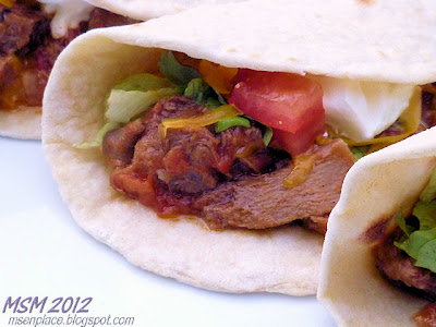 Beef Tongue With Tomato (Lengua Entomada)