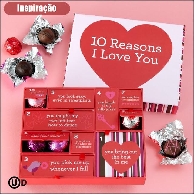 10 razões porquê eu amo você