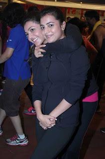 Kajal and Nisha