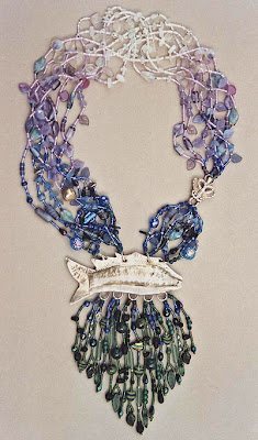 bead necklace by Robin Atkins, Sea To Sky