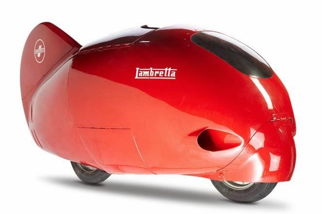 Lambretta Streamliner | Lambretta Record | Romolo Ferri Lambretta Record | Lambretta | Lambretta Red Bullet | way2speed.com