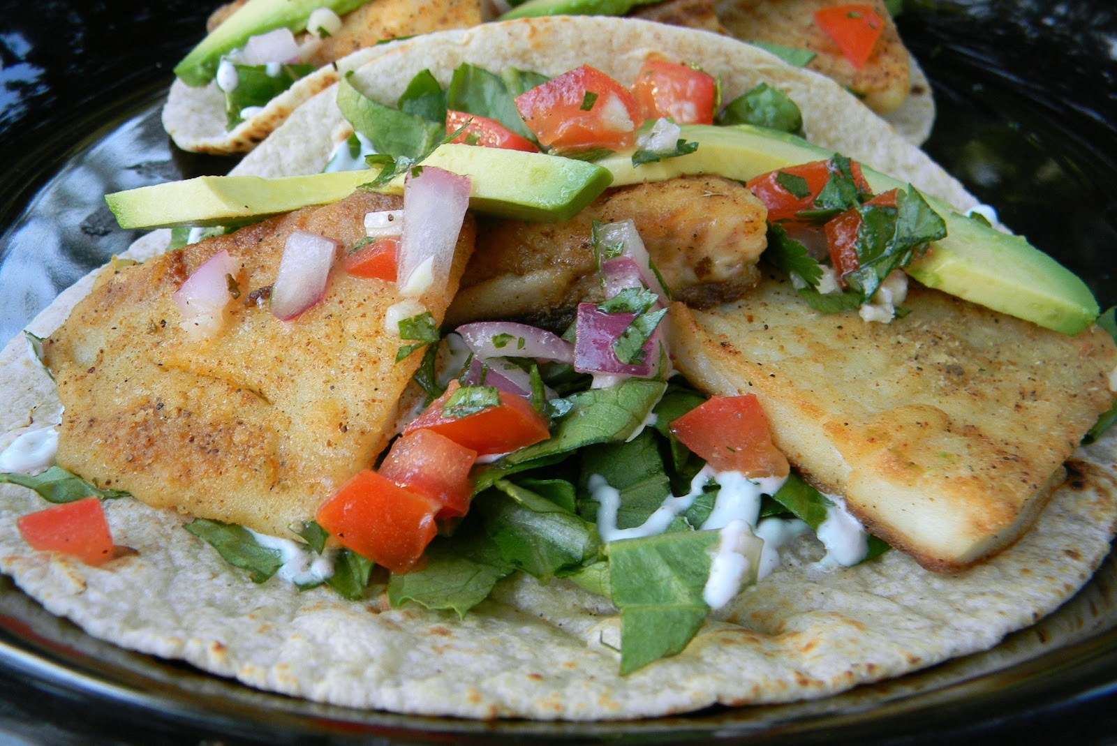 Kitten with a Whisk: Blackened Fish Tacos