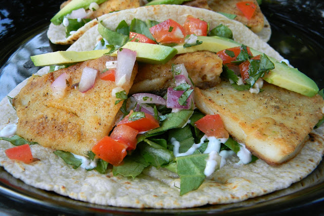 Kitten with a whisk blackened fish tacos for Blackened fish tacos recipe