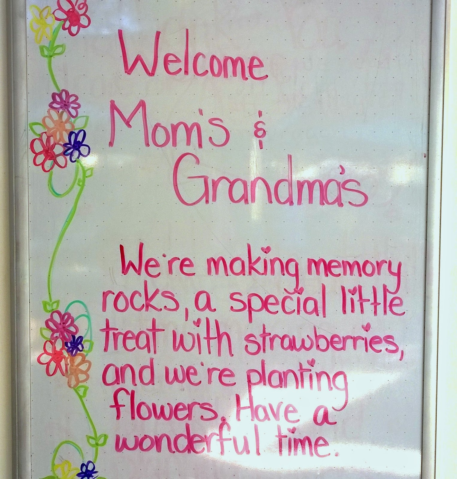 moms day at preschool