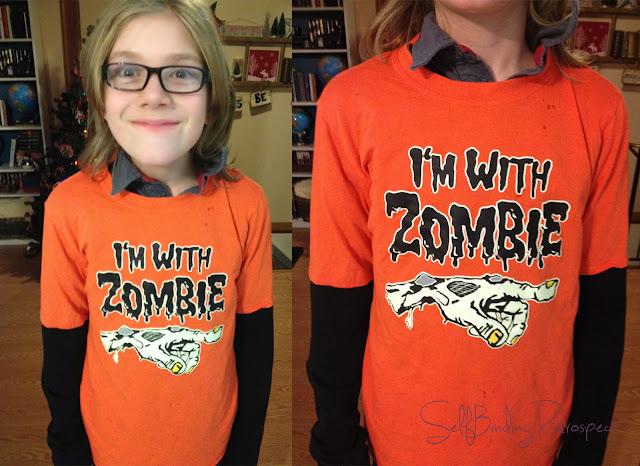 zombie, I'm with zombie shirt,