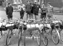 Cyclists at Marlborough