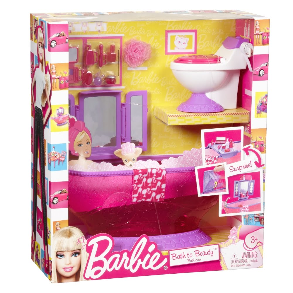Barbie dining room set