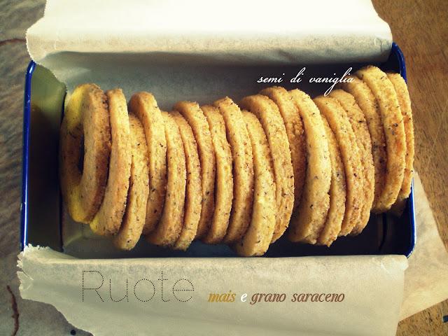 biscotti farina di mais e grano saraceno