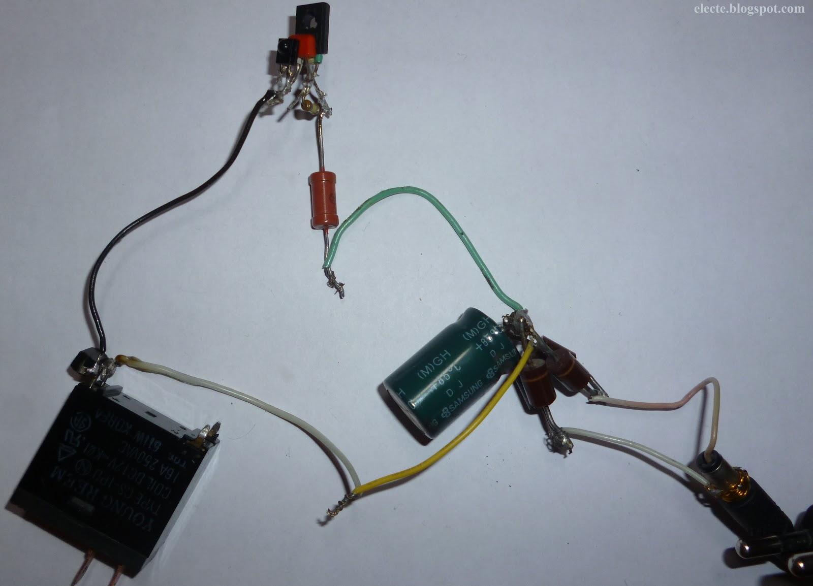 датчик реанирующий на свет электрическая схема