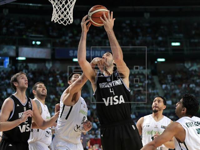 A diferencia del fútbol, México vence a Argentina en Basketball  y le arrebata invicto