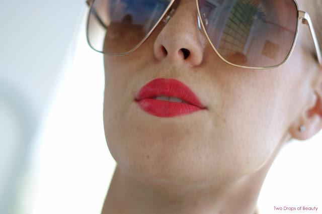 для рыжеволосых, макияж,  алый блеск, лак для губ, Rimmel, Apocalips, aurora, lips, make up