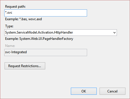 Configuring Handler Mappings in IIS 7, IIS 8