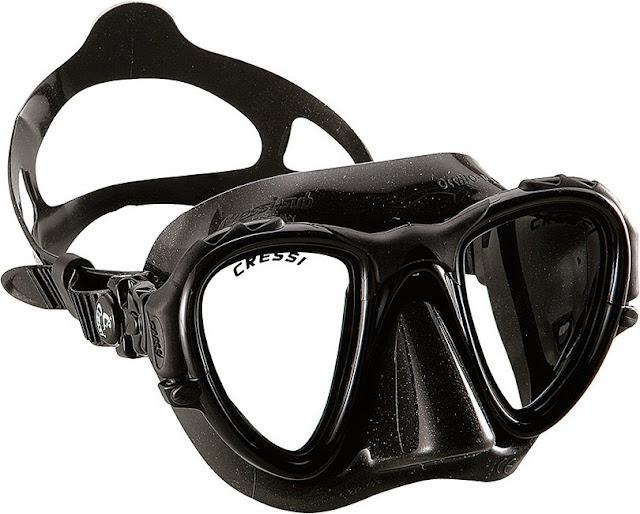kacamata snorkeling diving terbaik merk cressi