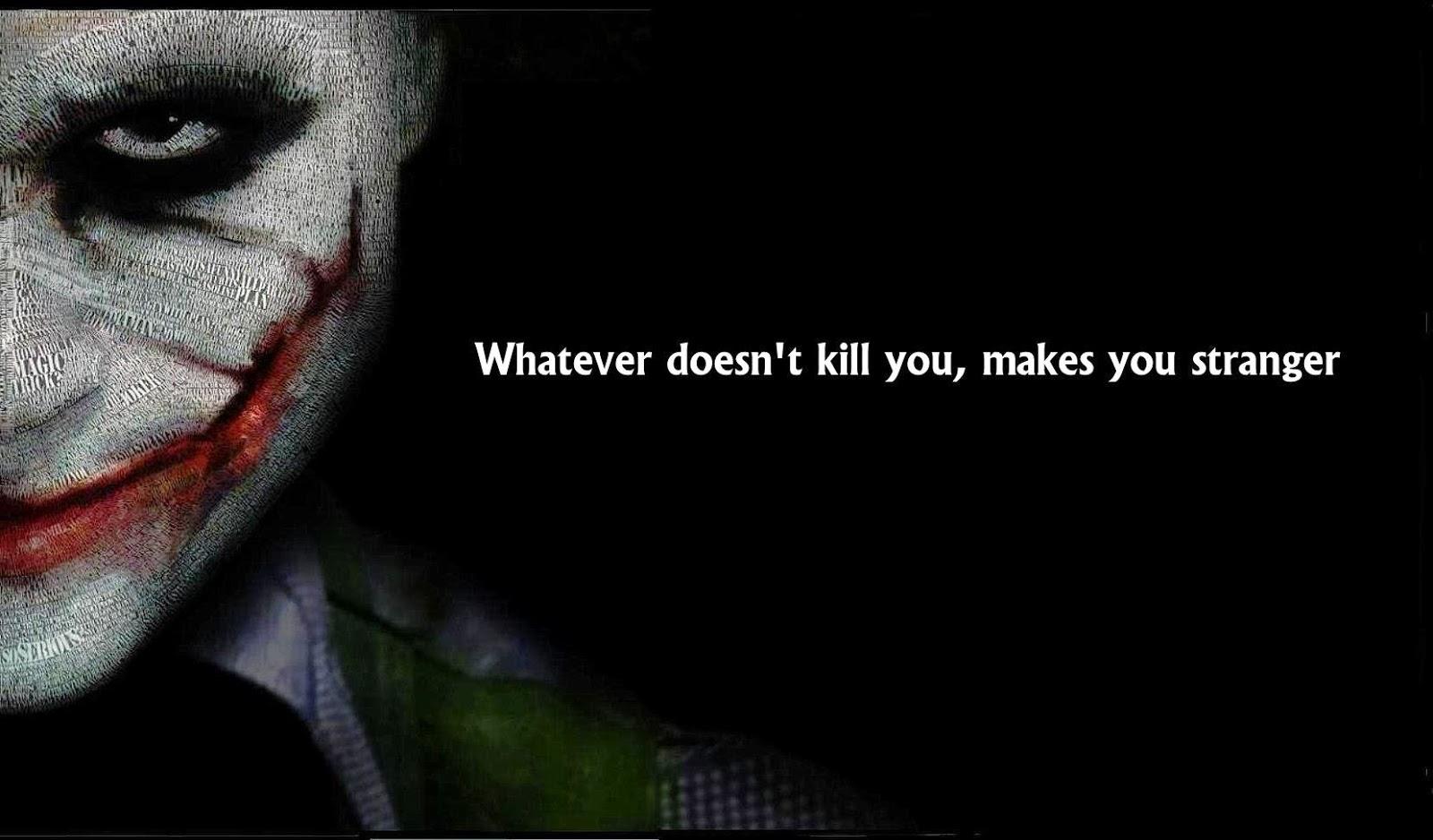 Joker Quotes ~ QuotesTank