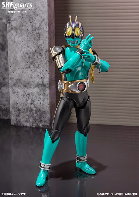 kamen rider 3 bandai action figure