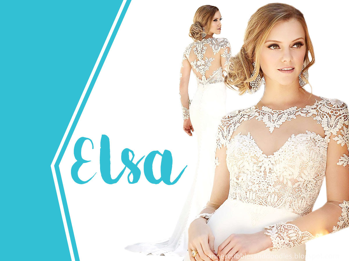 Film and Book Brides | Elsa of Frozen