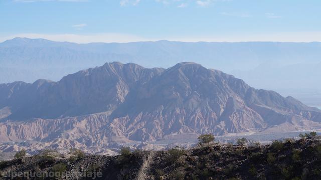Trekking Panoramico, Dique de Ullum , cerro tres marias