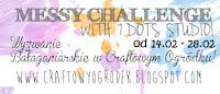 Wyzwanie bałaganiarskie | Messy challenge with 7 dots studio!