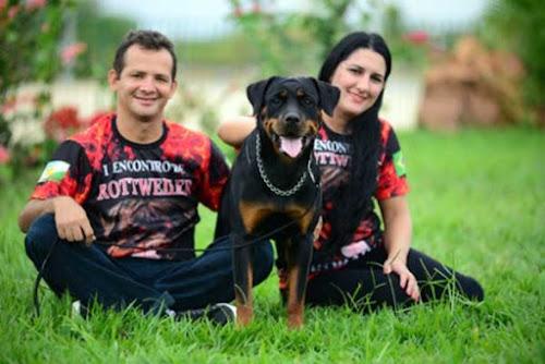 Criadores da raça rottweiler expõe no 1º Encontro de Criadores